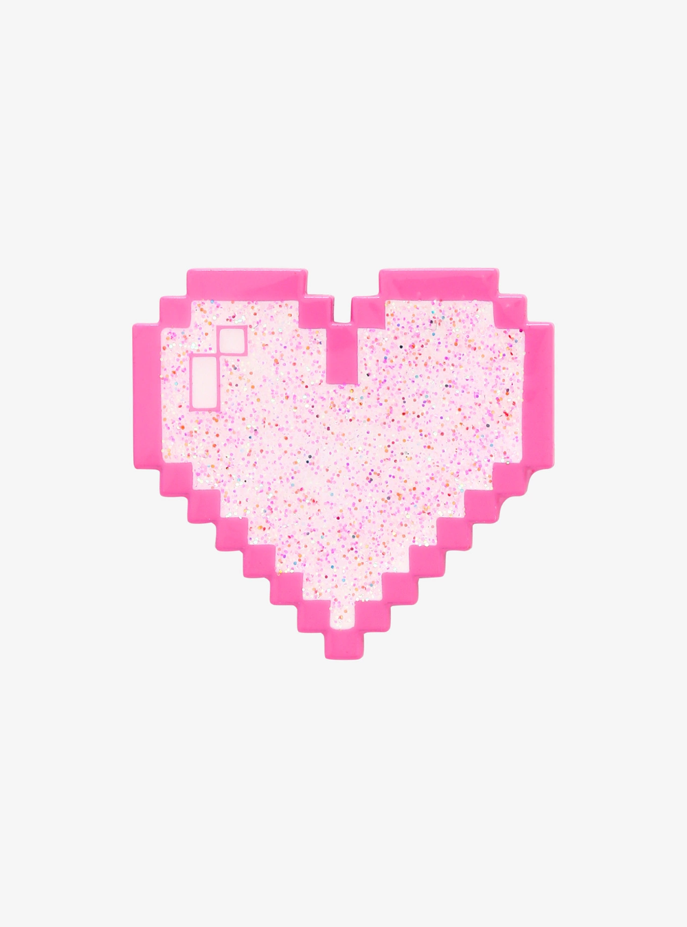Pink Pixel Heart Enamel Pin Pixel Heart Heart Enamel Pin Enamel Pins