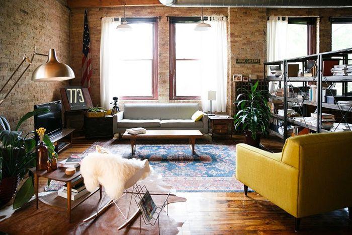 Decoración hipsters en apartamentos - Inuk Home
