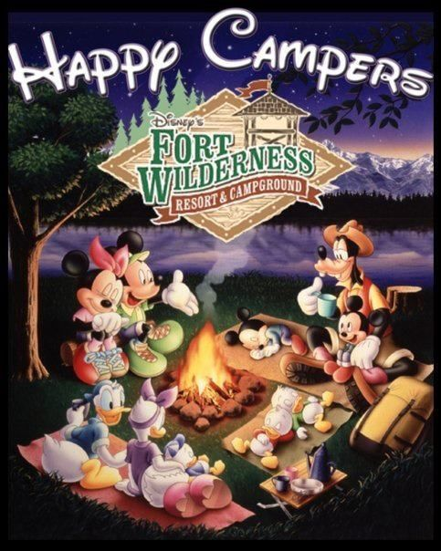 Happy Campers Disney S Fort Wilderness Awesome
