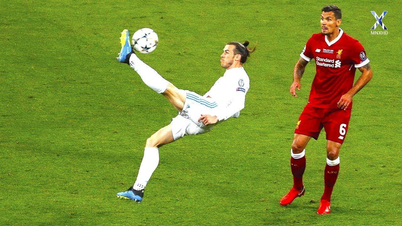 Extreme Soccer Skills Soccer Skills Bicycle Kick Gareth Bale
