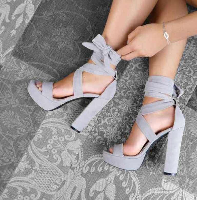 40 Hermosos Zapatos de Plataforma para las más Atrevidas