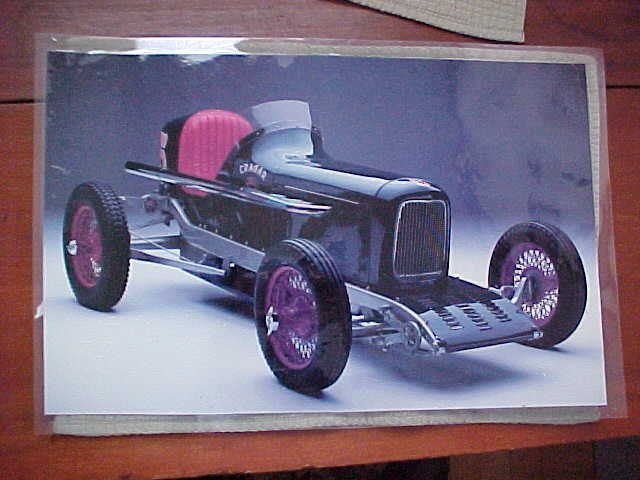 Cragar Powered Ford Race Car Fully Laminated Poster18 x by TJMARZ