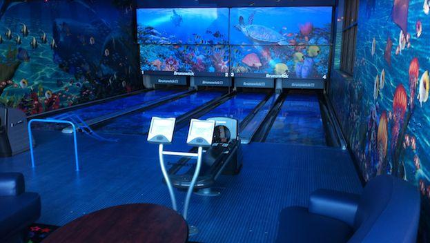 Glow Bowling Alley Glow Bowling Bowling Alley Bowling