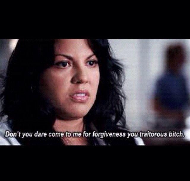 Greys Anatomy Forgiveness - My Own Email