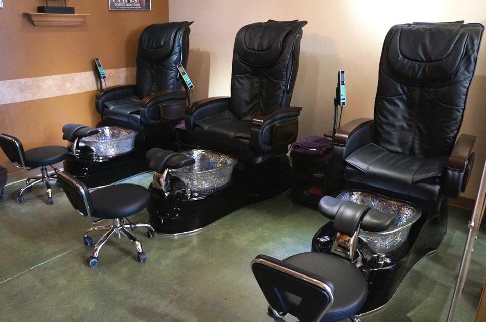 Pedicure area Spa, Spa salon, Spring inspiration