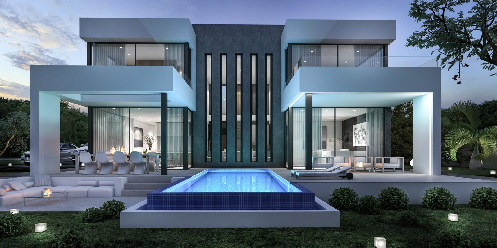 New Projects, Be Spoiled | Maison toit plat | House design, Duplex ...