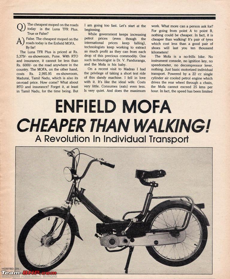 mofa bike india - Google Search