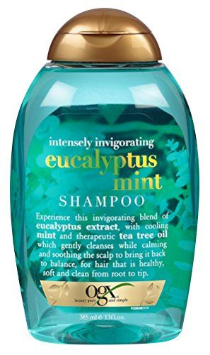 Ogx Intensely Invigorating Eucalyptus Mint Shampoo 13 Fl Oz Pack