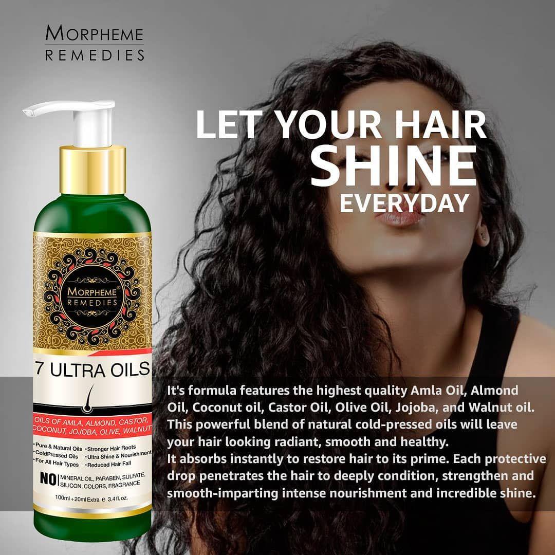 Morpheme 7 Ultra Hair Oil With Goodness of 7 Best Hair ...