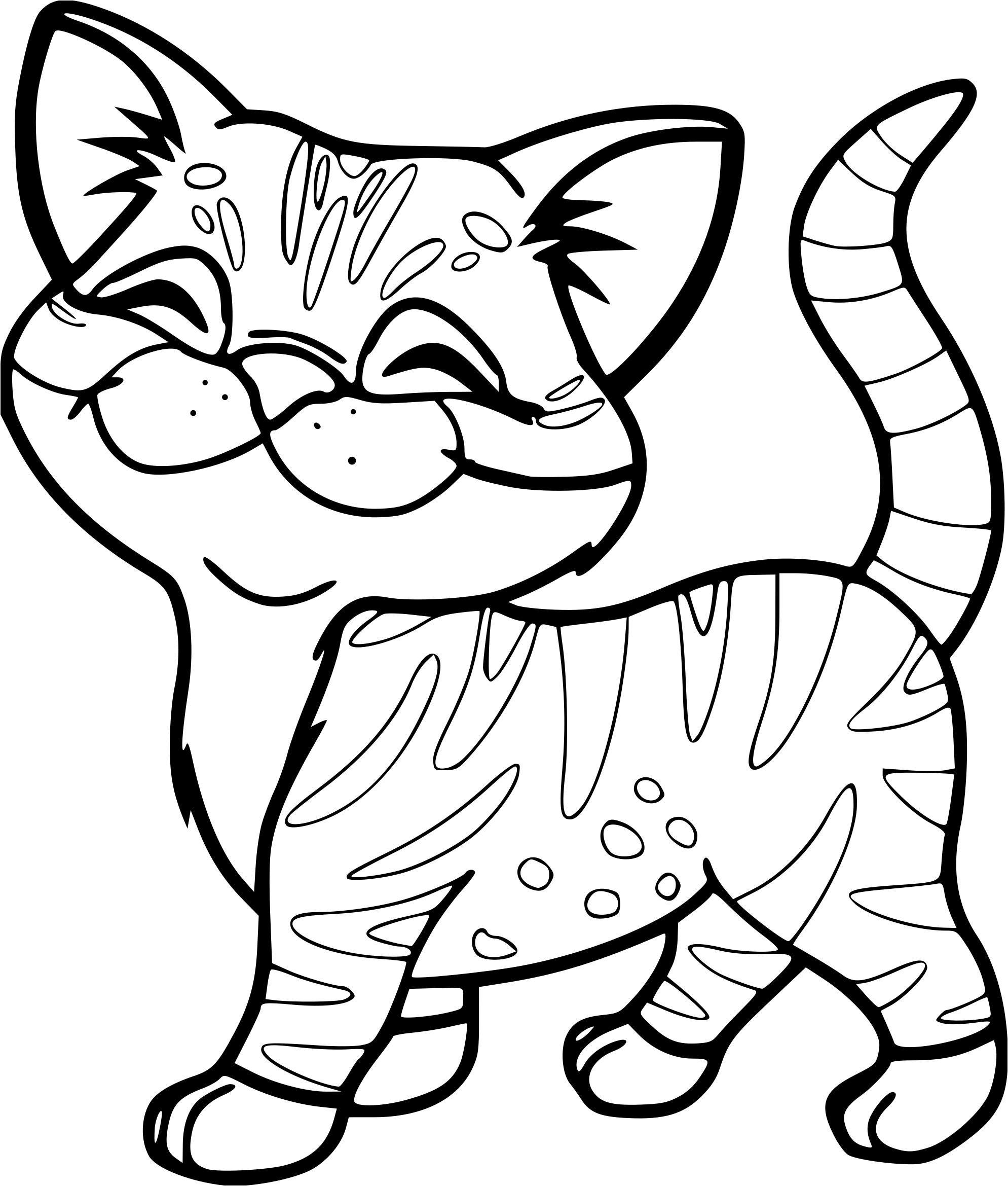 Coloriage animaux mignon inspiration coloriage animaux de - Dessin a colorier en ligne ...