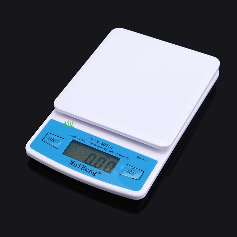 Mini 3kg 0 1g Professional Digital Pocket Scale 3000g 0 1g Lcd