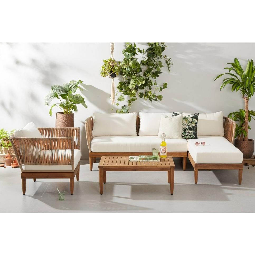 Awe Inspiring Whkmps Own Loungeset Met Fauteuil Bali Acacia Houten Alphanode Cool Chair Designs And Ideas Alphanodeonline