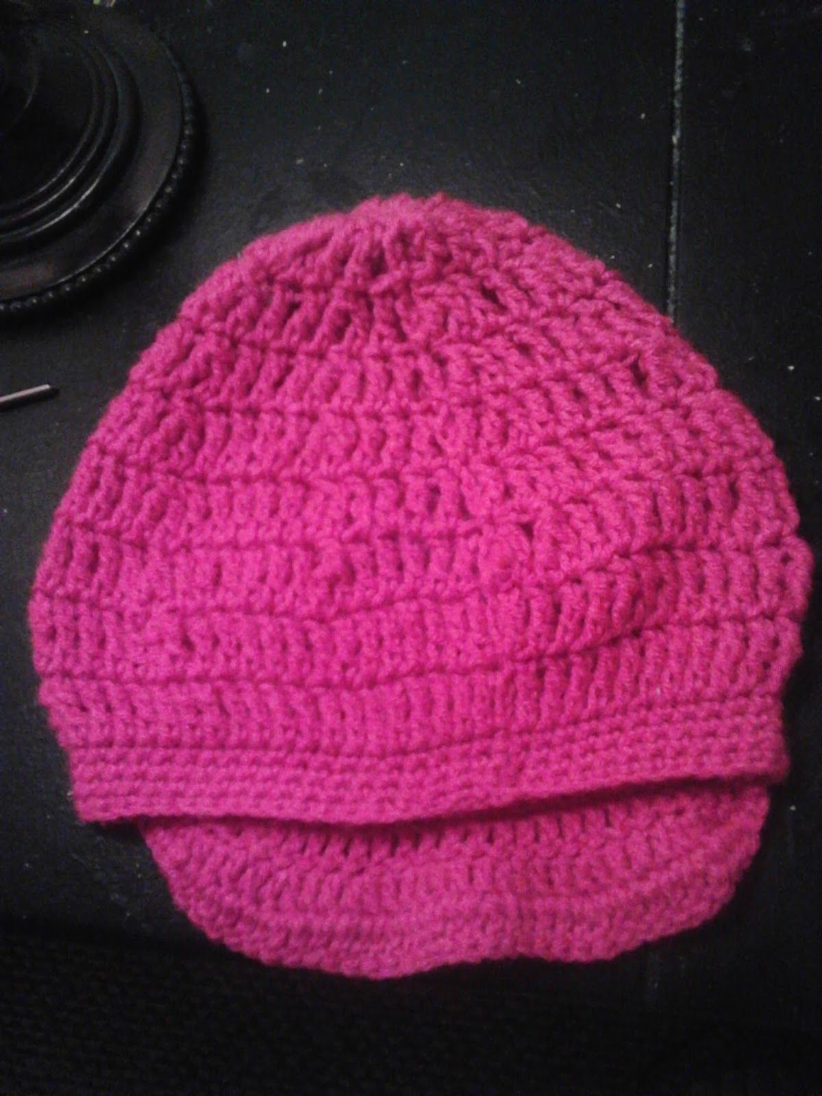 Crochet Freak: Toddler Slouch Hat with Brim *FREE Pattern* | Laycey ...
