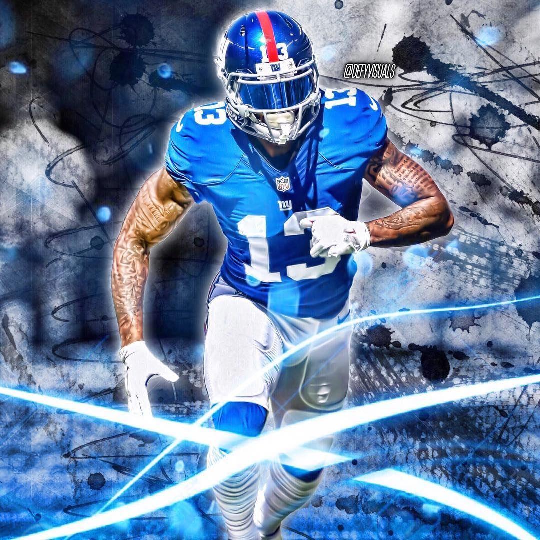 Obj Odb Obj Odell Beckham Jr Odellbeckhamjr Ny Giants Newyork Newyorkgiants Nygiants 13 New York Giants Football Giants Football New York Giants