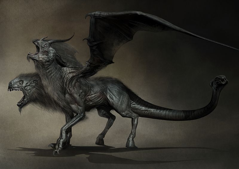 More WRATH OF THE TITANS Concept Art Surfaces Featuring ...