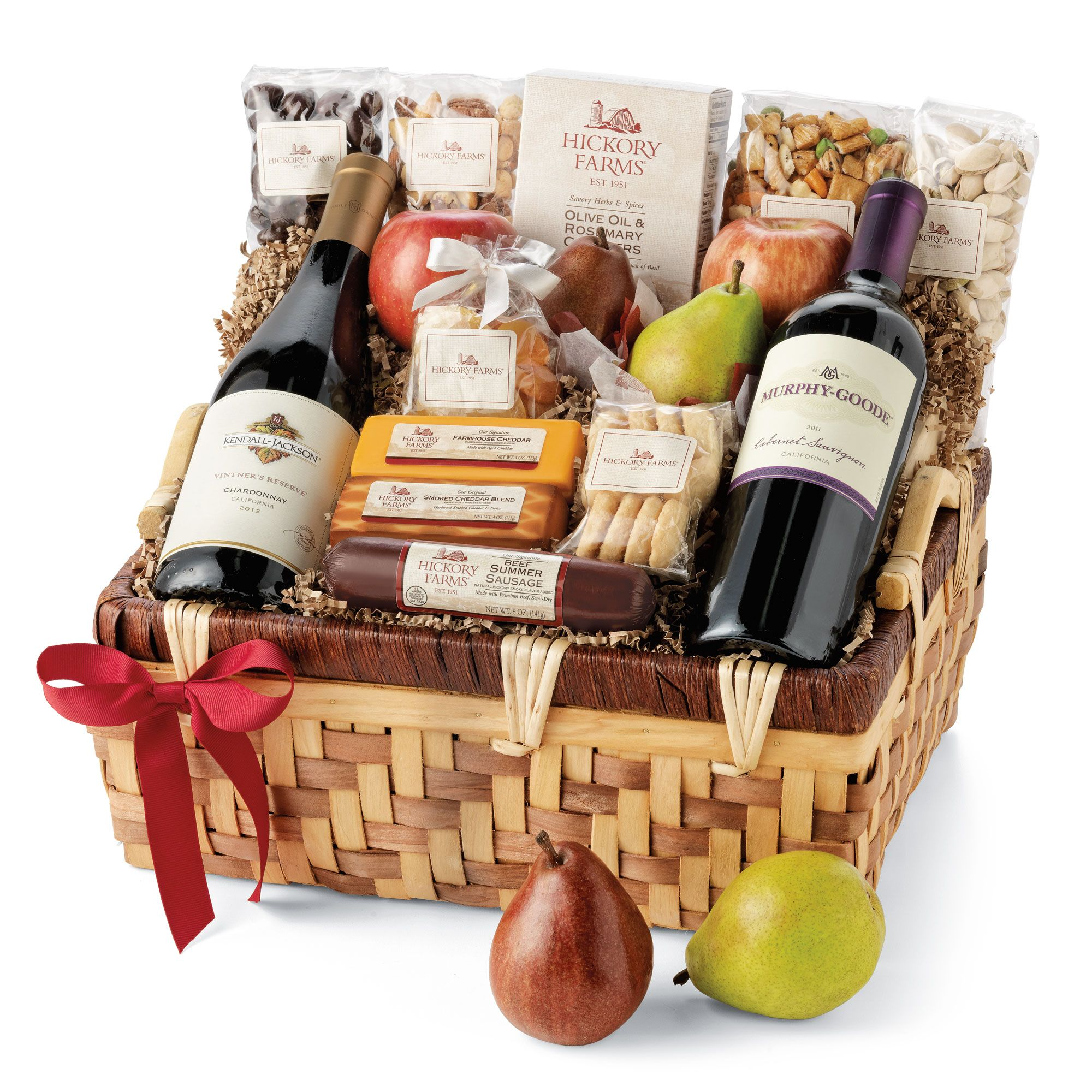 Hickory Holiday Celebration Gift Basket Farms