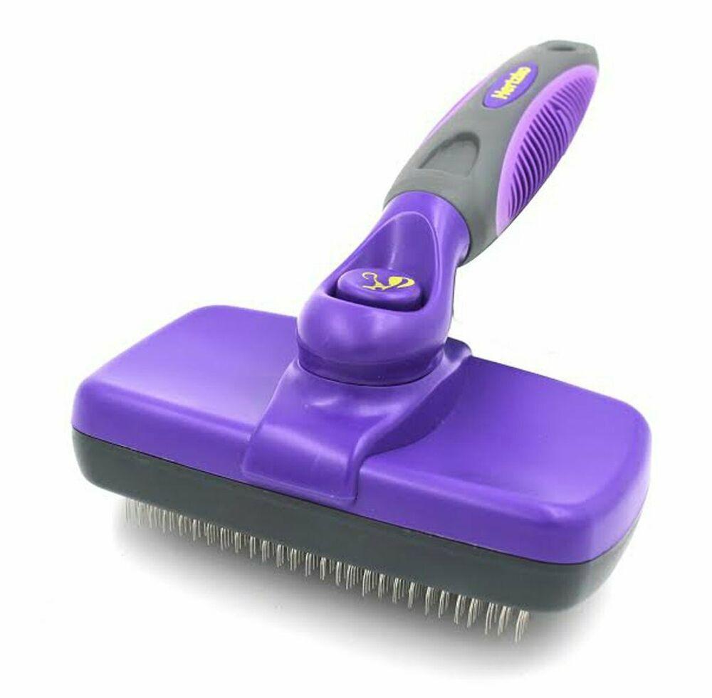 Hertzko Self Cleaning Slicker Brush Hertzko Dog