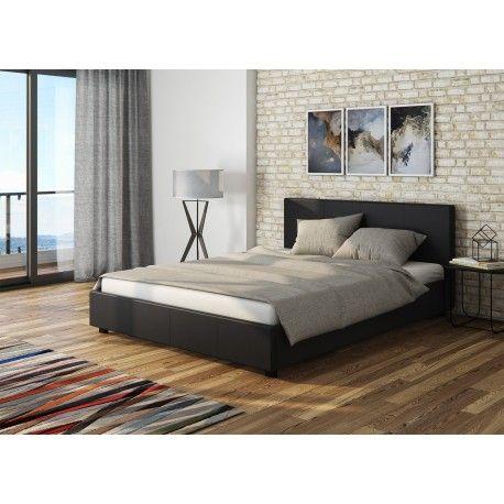 łóżko Z Pojemnikiem Veronica 180x200 Czarne Heweliusza