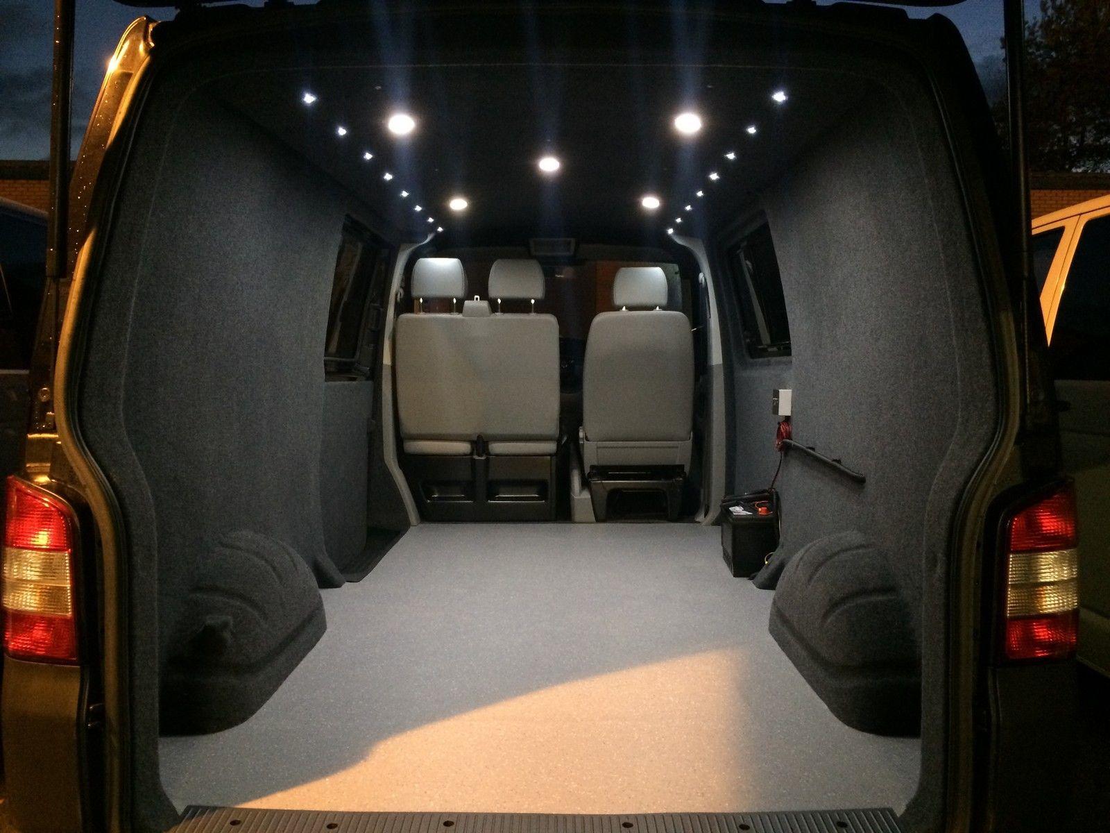Https Www Ebay Co Uk Itm Vw T6 T5 Carpet Lining Service Premium Quality Suede Ceiling Camper Van 163363440422 Hash Ite Van Volkswagen Bus Interior Camper Van