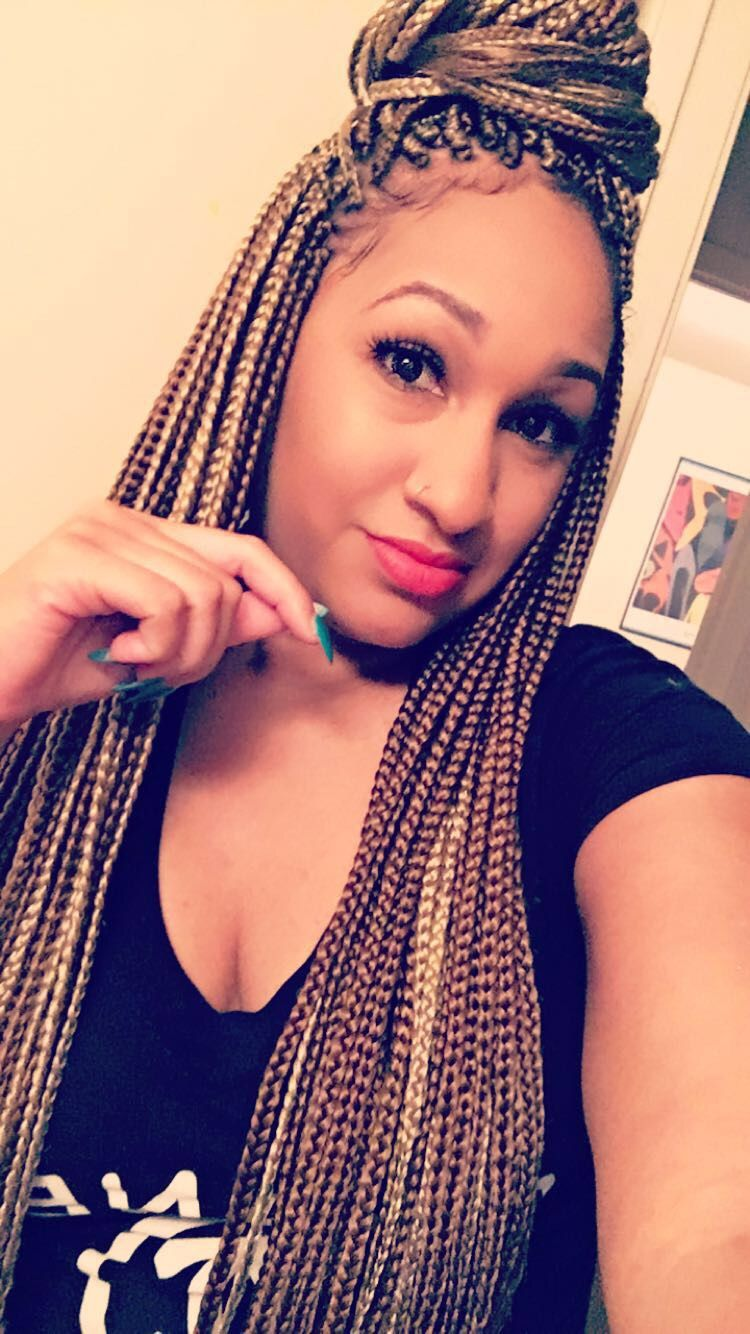 Honey Blonde Box Braids Box Braids Hairstyles Box