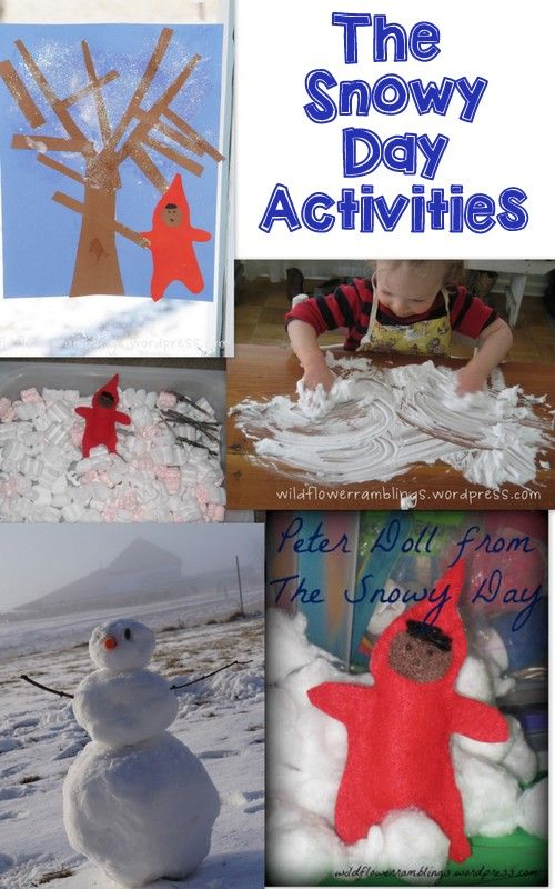 Tot School - The Snowy Day - Wildflower Ramblings