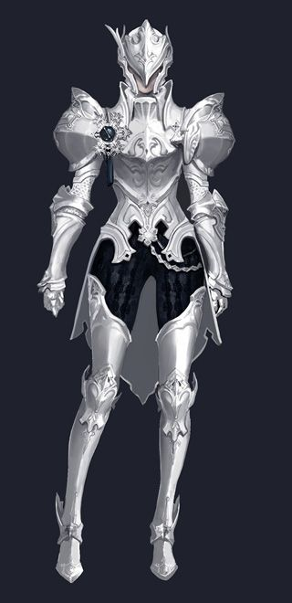 Vivoleen's armour.. Made from White Diamond mined by the ...