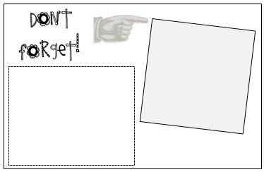 put post it notes in the boxes and print on for reminders