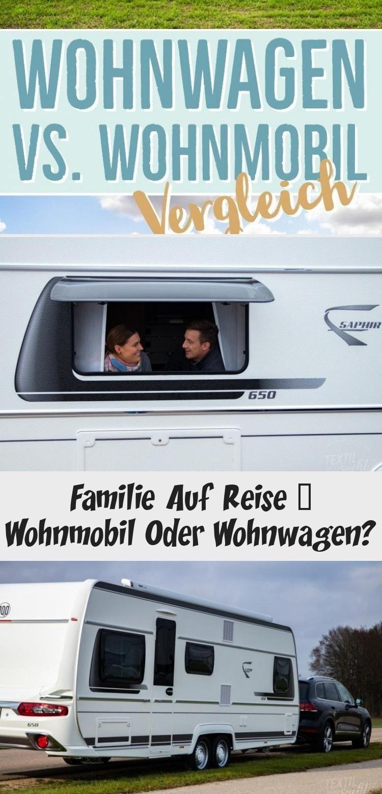 Wohnwagen gegen Wohnmobil – Vergleich #wohnwagenTipps