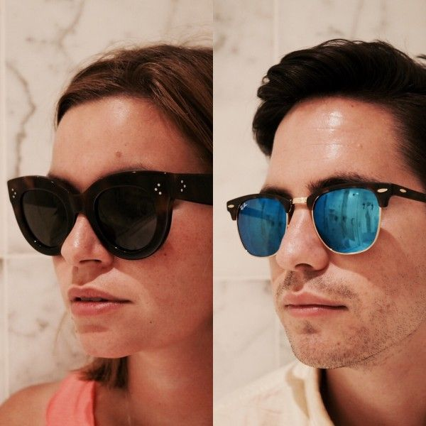 5f79eb85e65e From Thoroughly Modern Milly  s Blog  Celine Caty  sunglasses  blogger and  Ray
