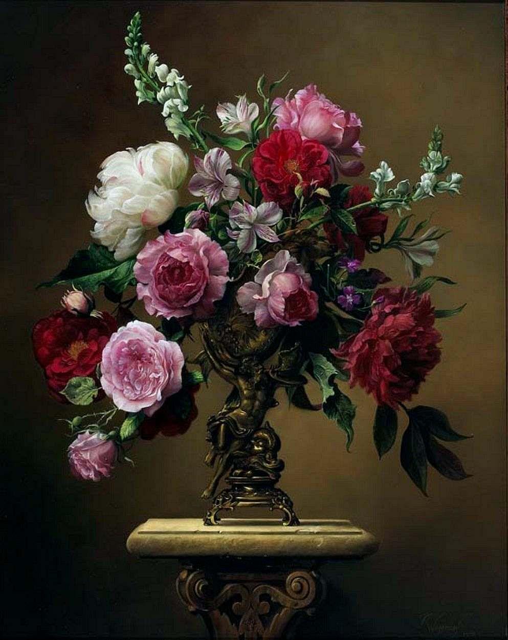 Художественные картинки цветов, для открытки днем