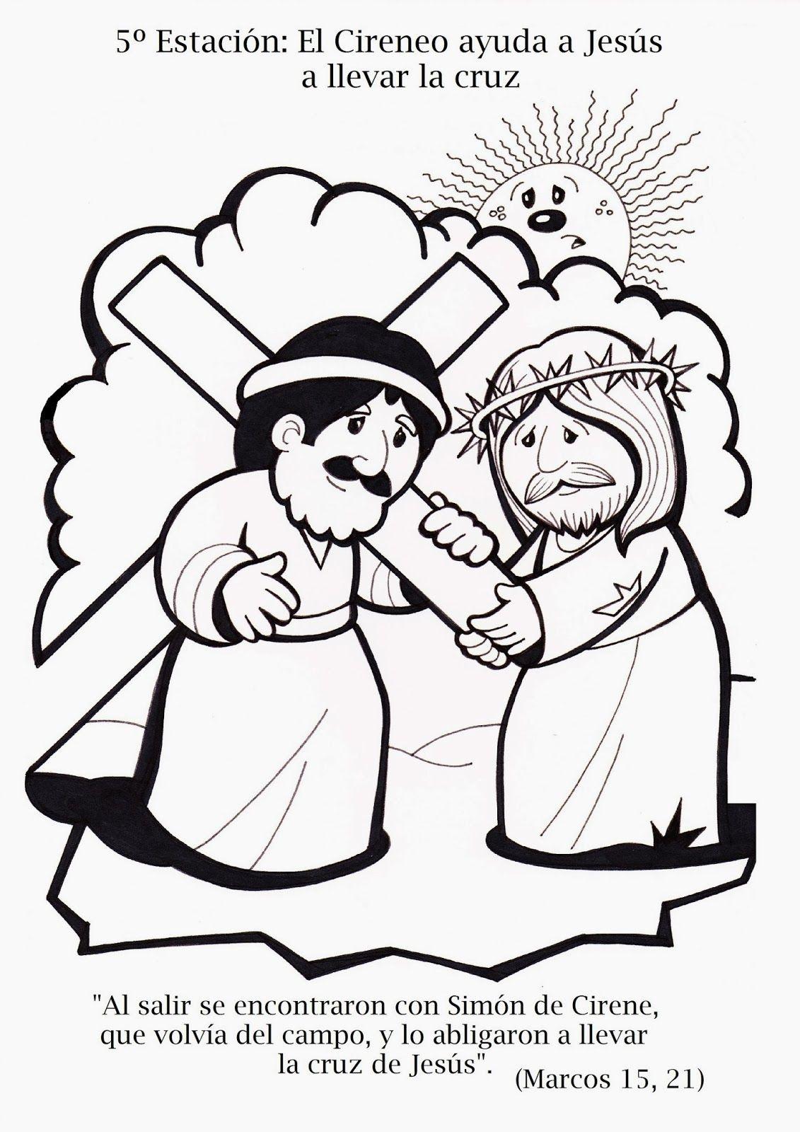 Lasmelli Via Crucis Para Ninos Artesania Biblica Via Crucis