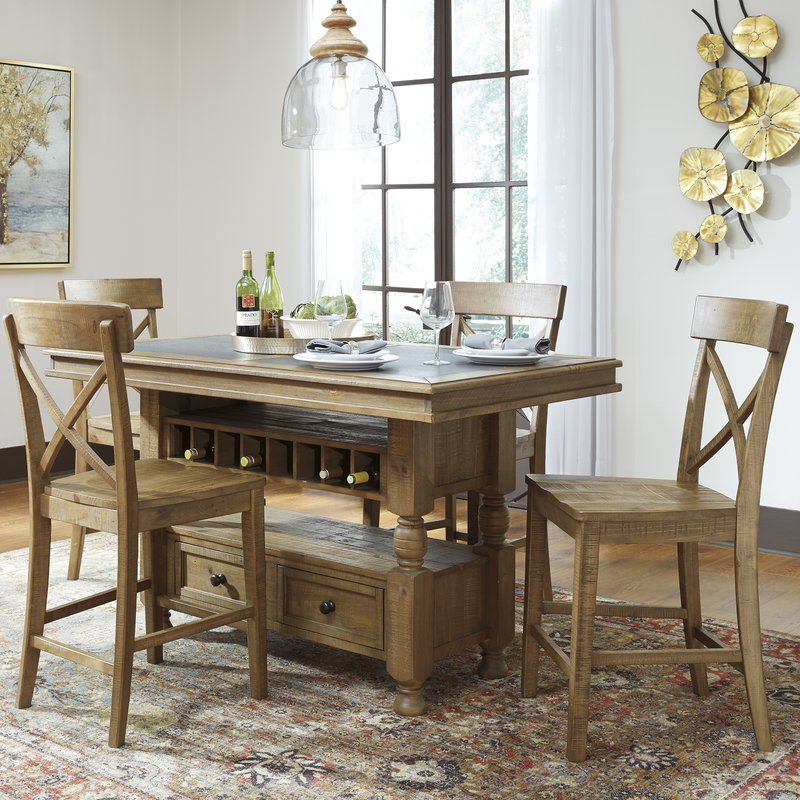 found it at wayfair trishley counter height dining table - Counter Height Kitchen Table