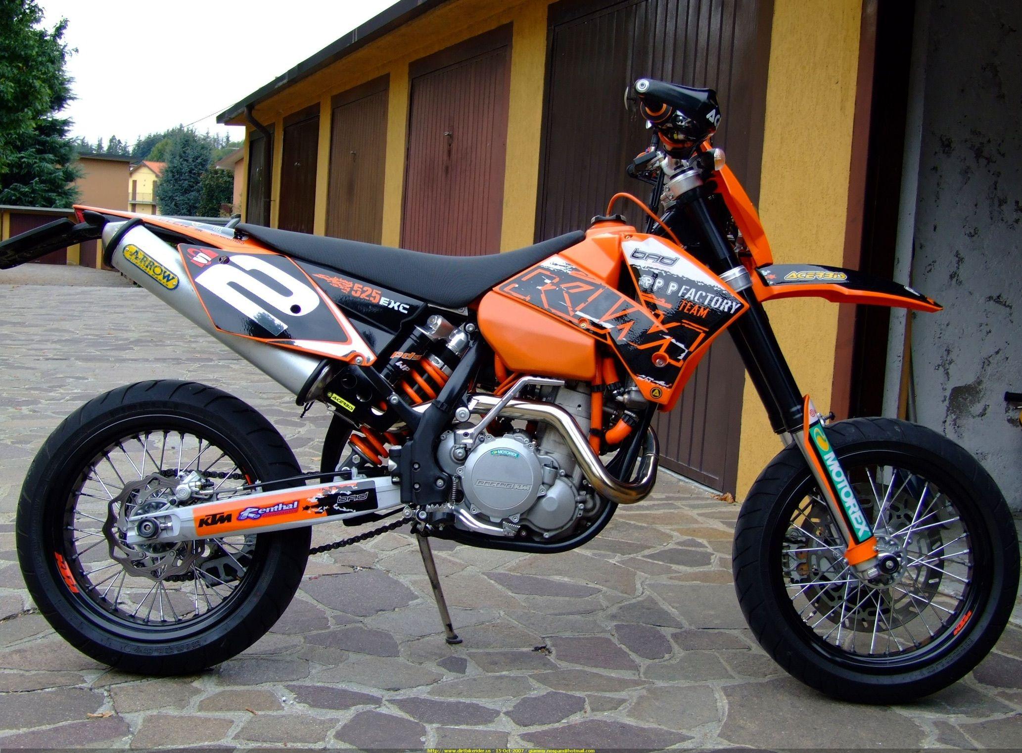 525 exc supermoto motorcycling ducati hypermotard ktm. Black Bedroom Furniture Sets. Home Design Ideas