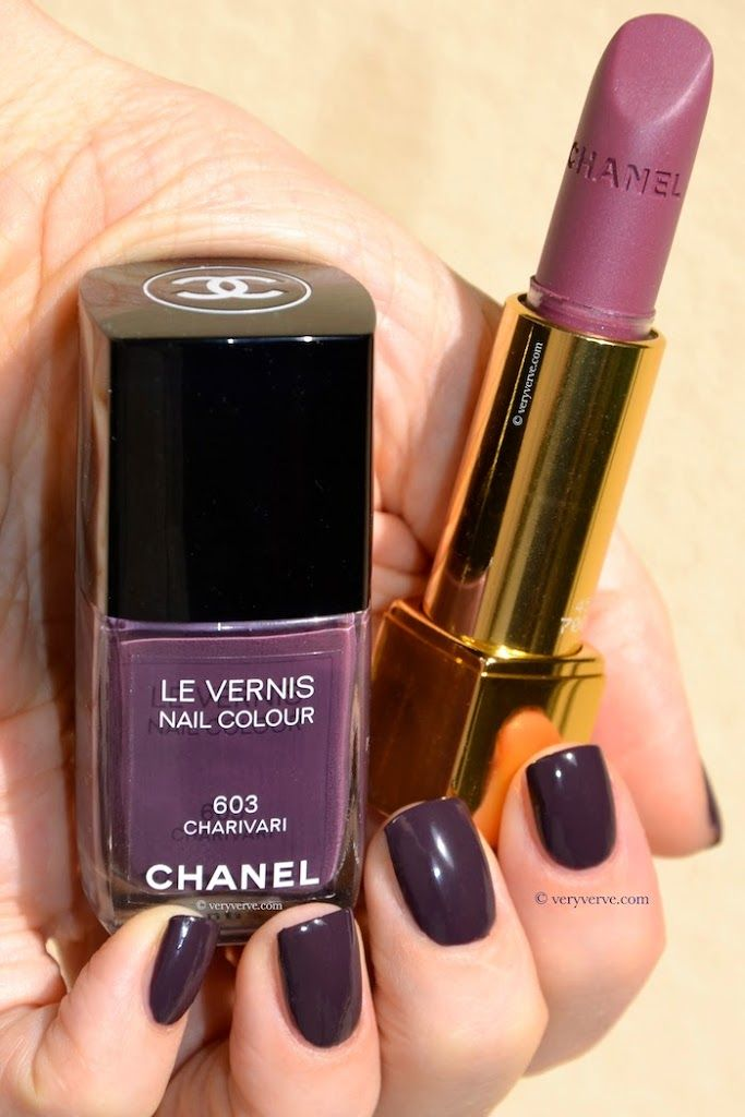 Nail polish Chanel Charivari 603 swatches, new colour spring summer ...