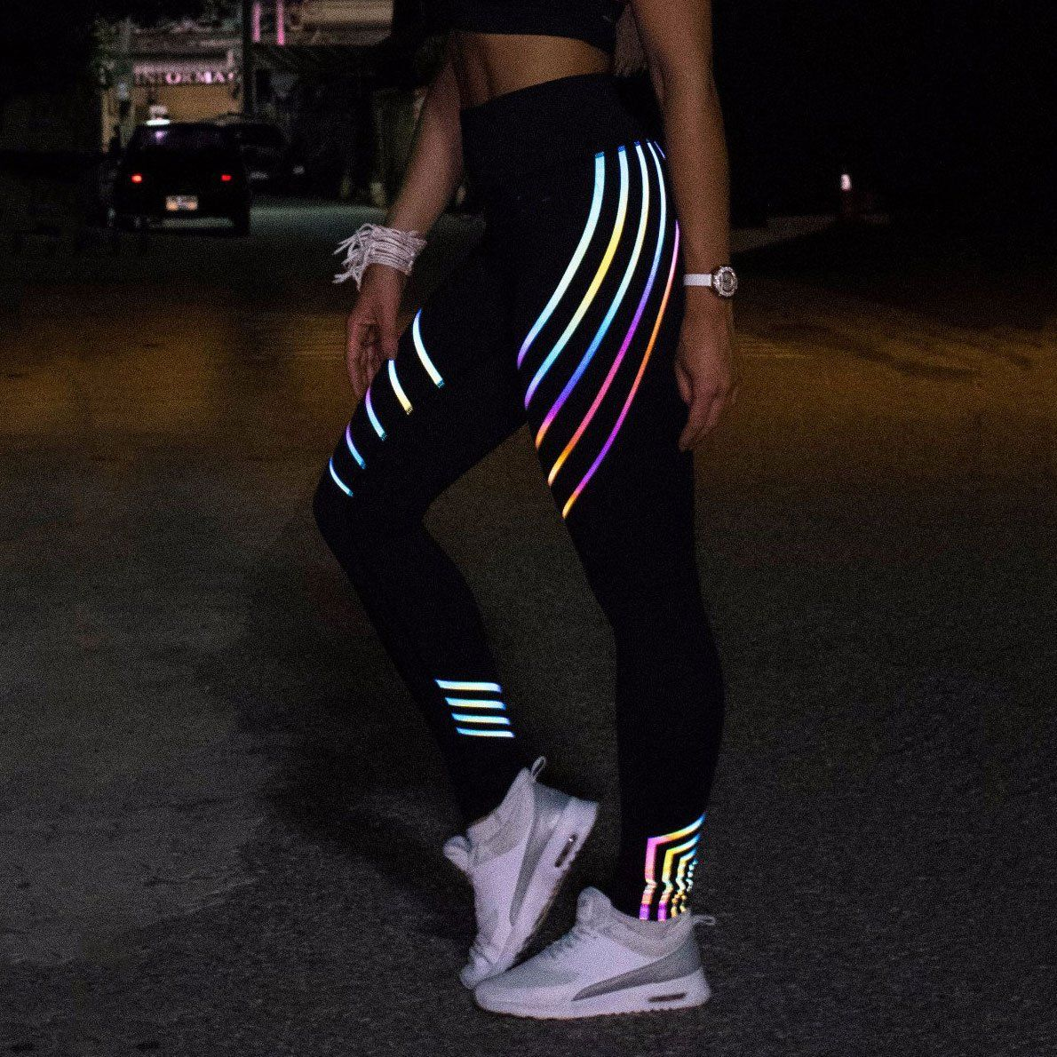5b94f3e268264 Rainbow/ iridescent reflective material has been the new favorite of fashion  to be widely applied