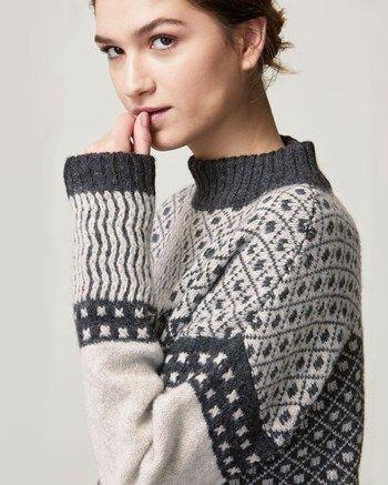 Women's Shetland Fair Isle Pullover | Dressing ideas | Pinterest ...