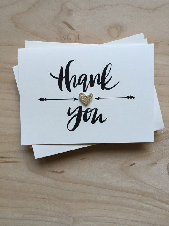 Thank You Cards, Cute Thank You Cards, Bachelorette Party Thank Yous, Wedding Thank You Cards, Shower Thank You Cards, Blank Thank You Notes