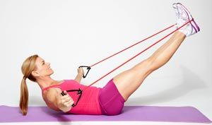 Sculpt And Burn Your Way To A Smokin Body Best Exercise Bands Chest Fly Exercise