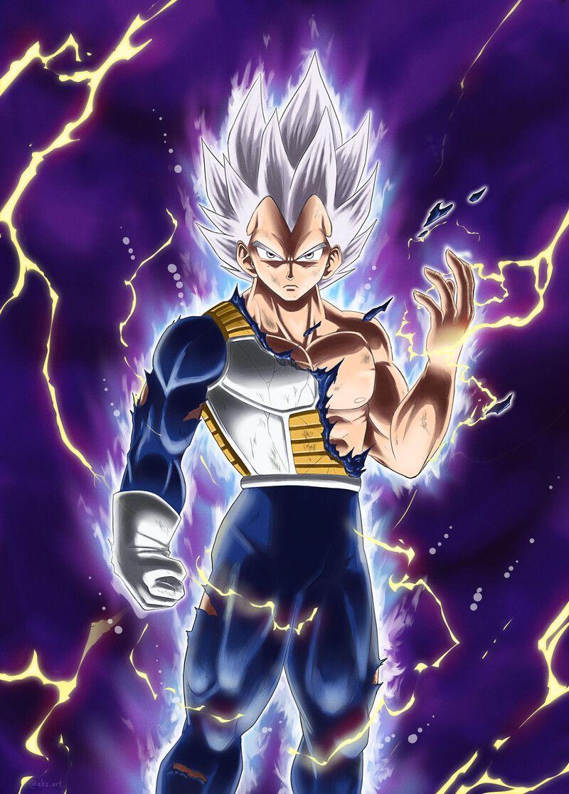 Artstation Ultra Instinct Vegeta Concept Abdul Attamimi Anime Dragon Ball Goku Dragon Ball Super Artwork Dragon Ball Super Manga