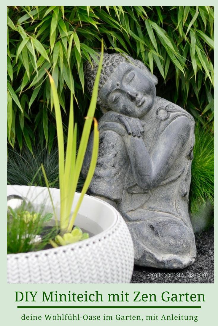 Miniteich Mit Zen Garten Fur Zu Hause Selber Anlegen Mein Blog