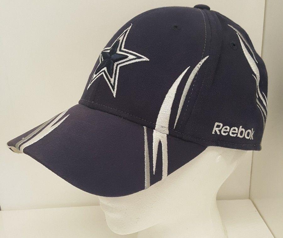 50a4d39ed8d Dallas Cowboys Ball Cap Hat Blue White Silver Star NFL Football Reebok Team  Gear  Reebok  DallasCowboys