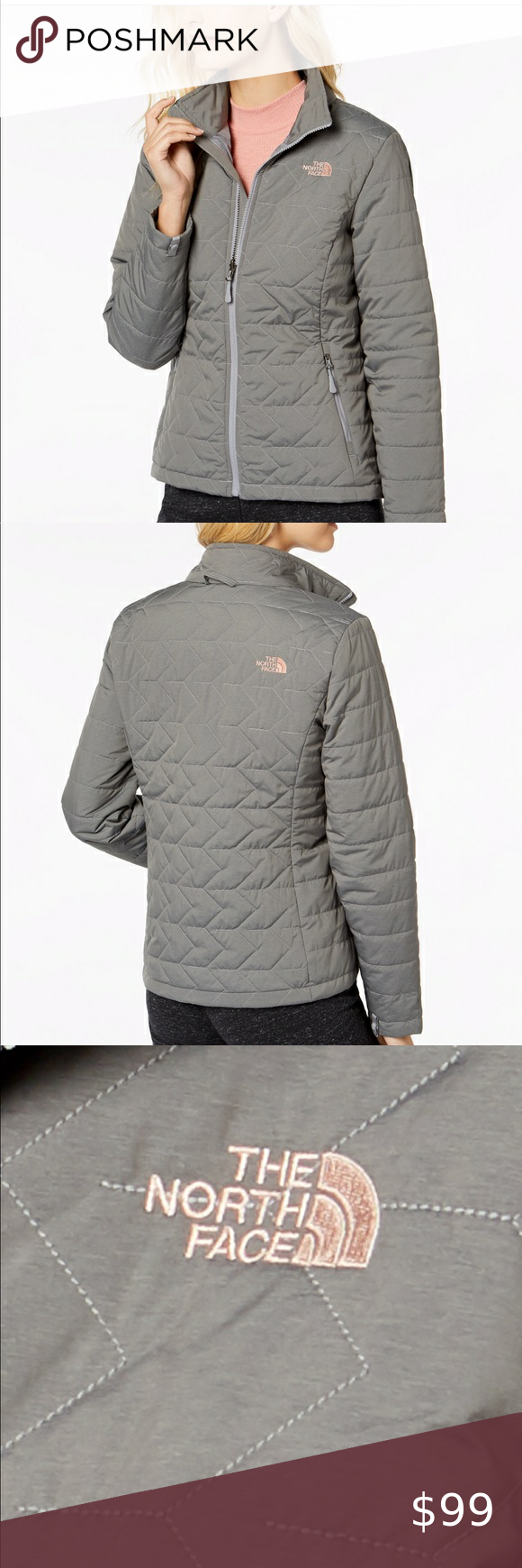 The North Face Gray Puffer Jacket New Xs New With Tags The North Face Zip Up Puffer North Face Puffer Jacket Grey North Face Jacket North Face Metropolis Parka [ 1740 x 580 Pixel ]