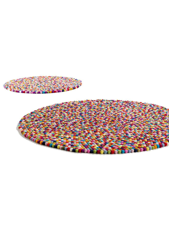 Impressionnant Tapis Rond Multicolore Pas Cher