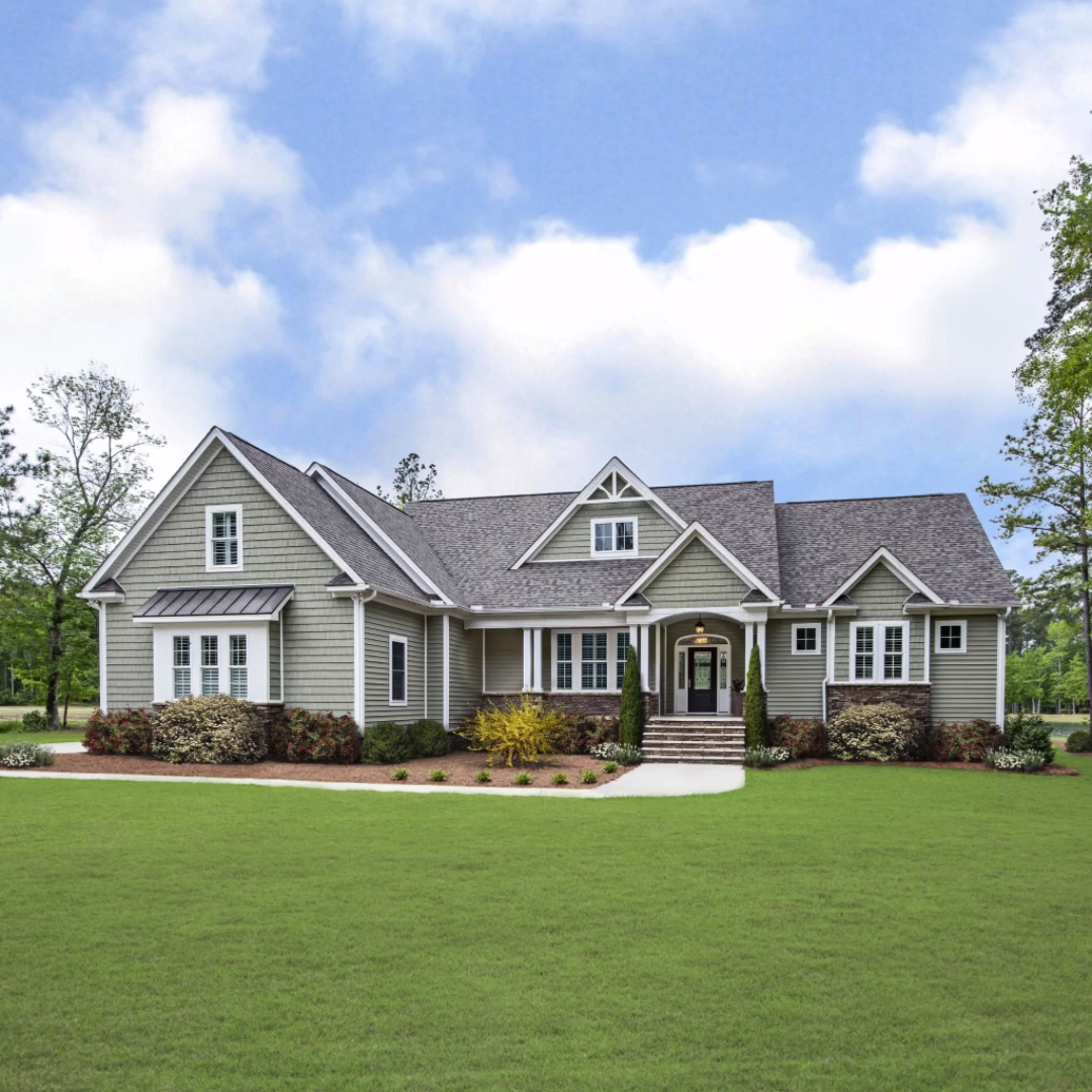 The Drake Home Plan 1371 #modernfarmhouseexterior