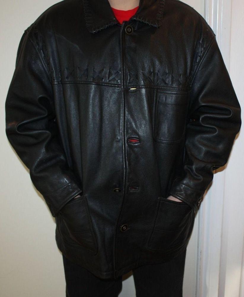 a3e9eaee1 Vintage Authentic Winlit 1969 Black Leather Jacket   Interesting ...