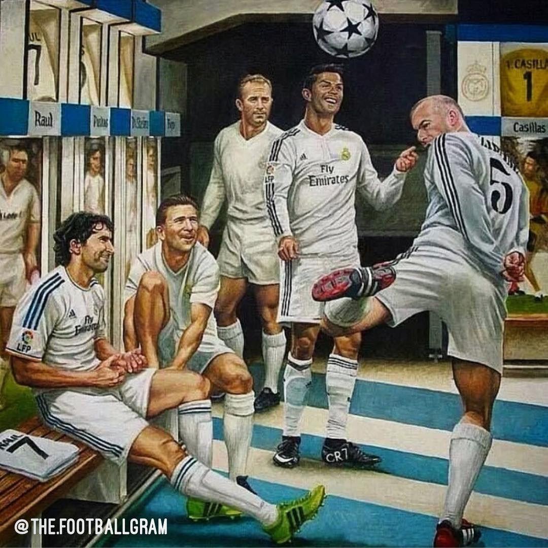 Реал мадрид команда легенда
