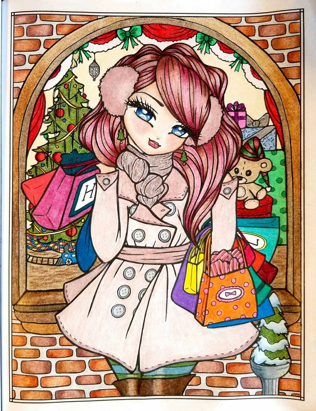 """""""Holiday Shopping"""" - A Whimsy Girls Christmas by Hannah ..."""