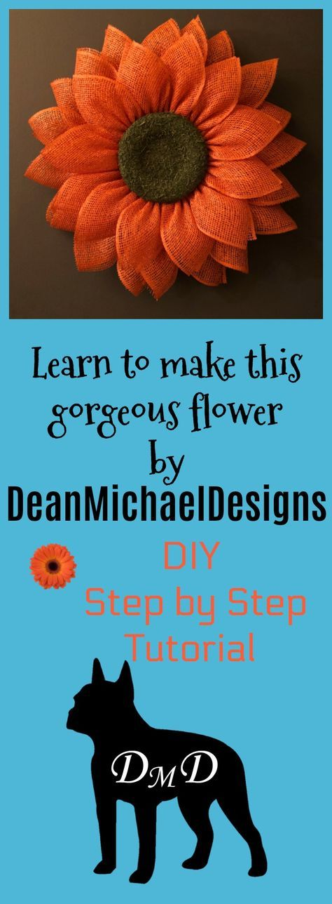 Photo of Daisy Petal Wreath Tutorial by DeanMichaelDesigns