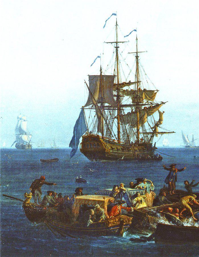 Claude-Joseph Vernet - Seascape View of Sorrento