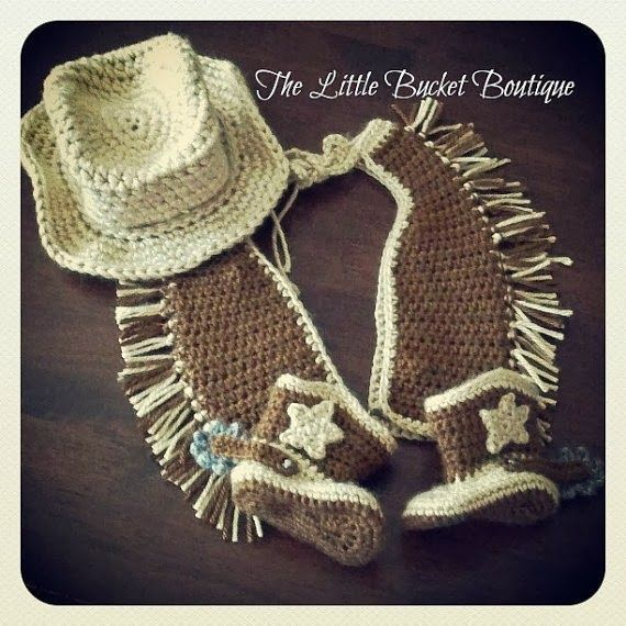 Crochet Cowboy Outfit Pattern Free Video Tutorial | Patrones